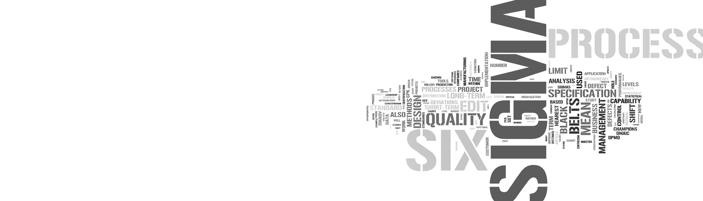 Lean Six Sigma graphic